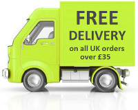 Free UK Delivery on all orders above £35